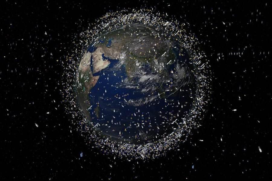"""日本建""""宇宙作战队""""仅为盯太空垃圾?专家揭示其中玄机"""