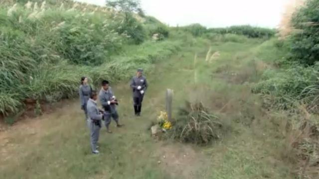 抗日战争终于结束了 三兄弟和曹丽君来到墓前看望方蕾