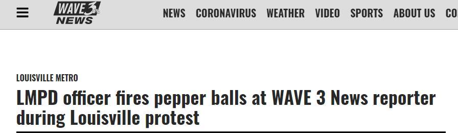 【莱特币官网】_直播骚乱现场时,美国记者遭警方发射胡椒弹击中