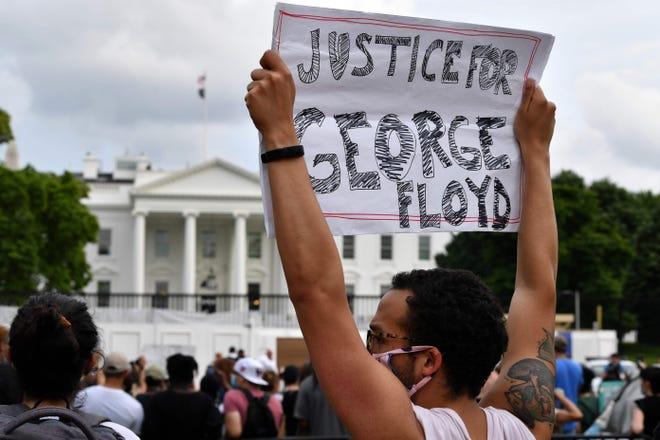 """【bcc币】_""""黑人之死""""抗议活动蔓延至华盛顿 白宫紧急封锁"""
