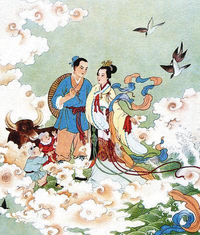 从神话到影射国情:近代作家对牛郎织女故事的重塑