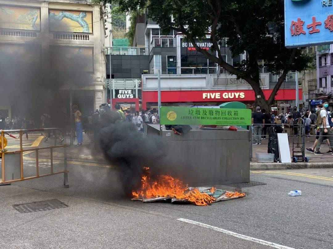 """【vdf】_""""港区国安法""""上线在即 黑暴分子垂死挣扎"""