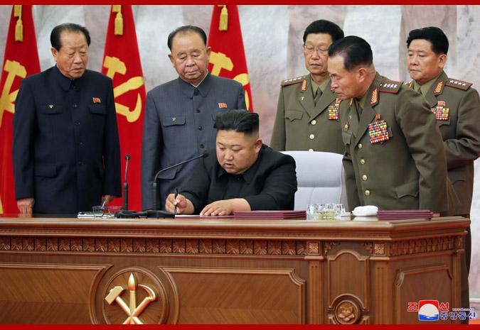 朝鲜军委提巩固核战争遏制力 金正恩签7项命令