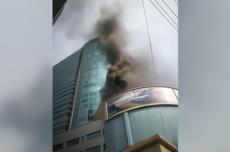 上海飞洲国际排烟管道着火,幸无人员伤亡