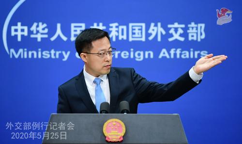 """美官員聲稱中國""""竊取""""美國新冠疫苗相關研究成果 外交部回應"""
