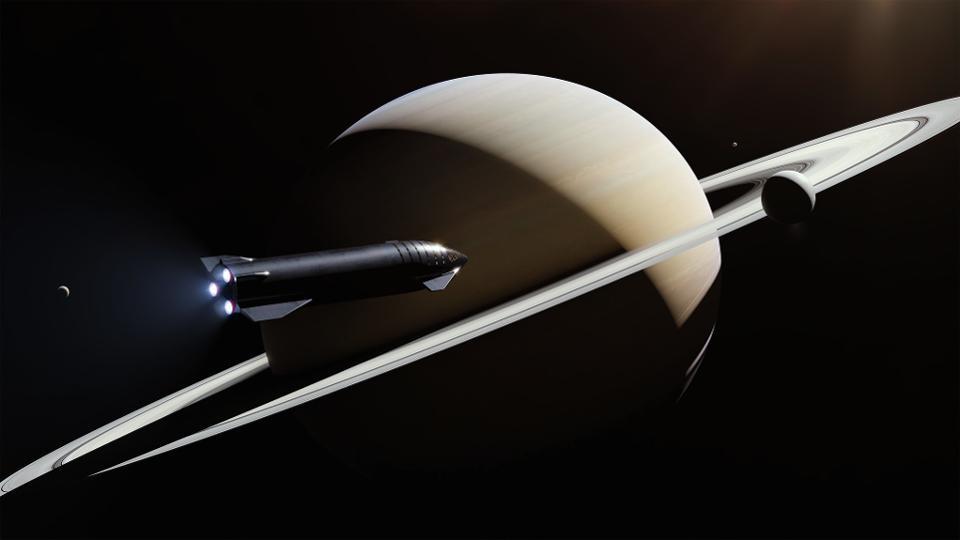 SpaceX的未来商业太空旅行构想
