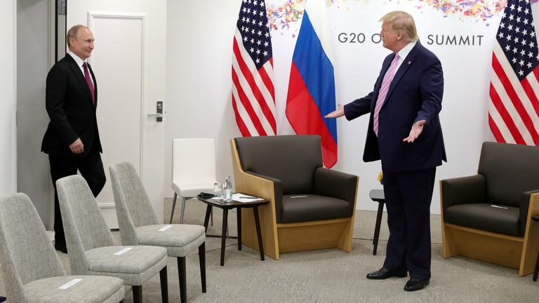 特朗普想邀请普京参加G7峰会 普京:我再想想(图)
