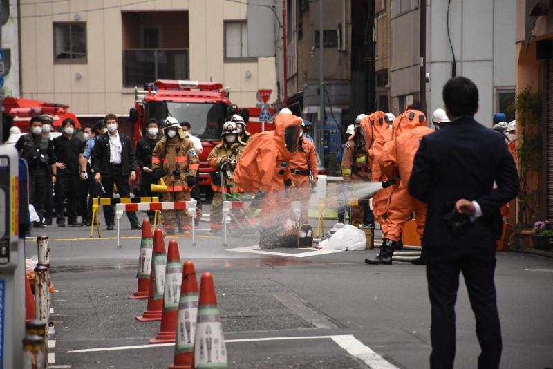 【二丁目的拓也君】_东京秋叶原街头惊现剧毒液体 可致足部坏死