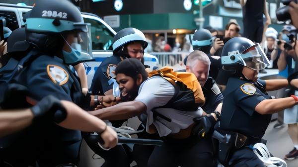 美国保护记者委员会:至少百名记者遭警察暴力执法