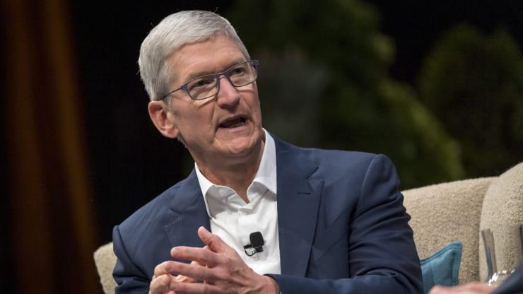 苹果CEO库克谴责暴力杀害黑人事件 呼吁建立更公正世界