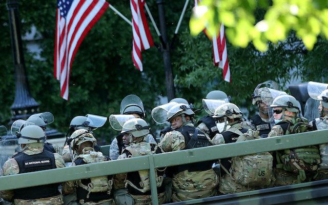 【为国家而战】_美防长:不支持特朗普援引《叛乱法案》出动军队