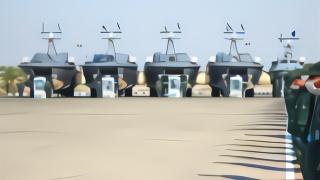 针对美国?伊朗革命卫队装备112艘快速攻击艇 还出现一种奇特装备
