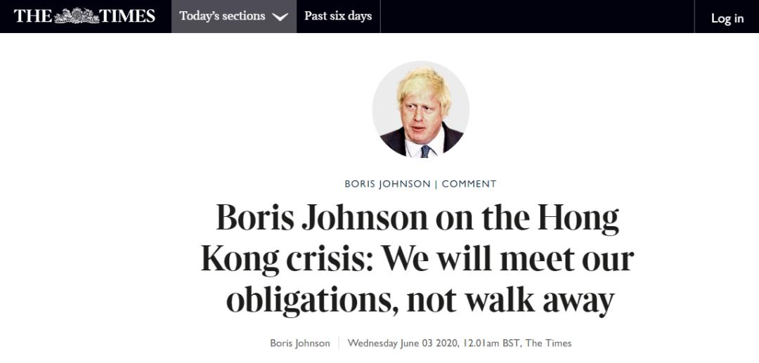 【学亚洲天堂】_英首相发表涉港声明,英国人看了不爽了