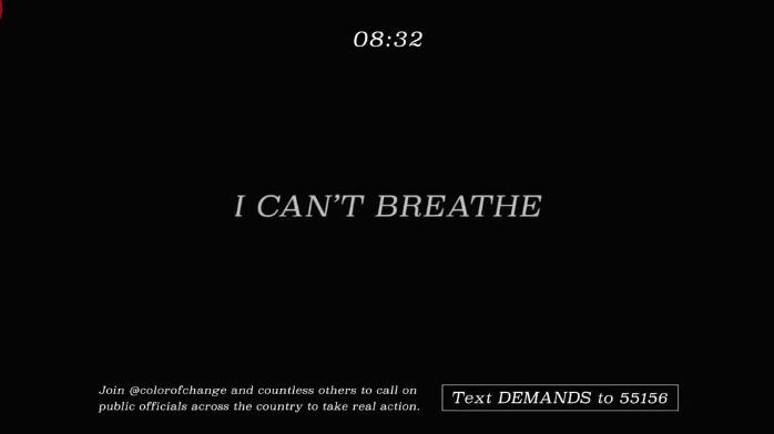 以放动画出名的美国儿童频道,放了8分钟黑屏支持抗议