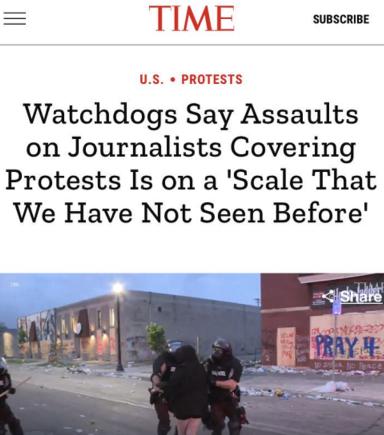 【乐陵快猫网址】_抗议现场的记者们受不了了:美国这是在自毁形象