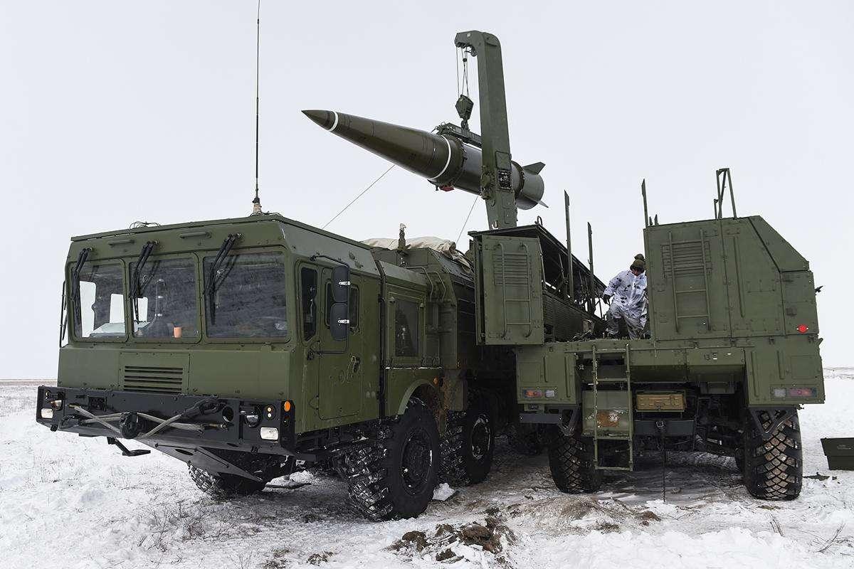 """未来""""伊斯坎德尔""""导弹很可能将成为俄罗斯战术核武器的主要载具。"""