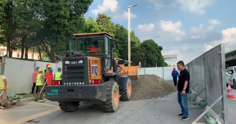 【国产亚洲香蕉精彩视频门户网】_广州番禺地陷坑深1米正在回填,此前天河也曾出现地面下陷