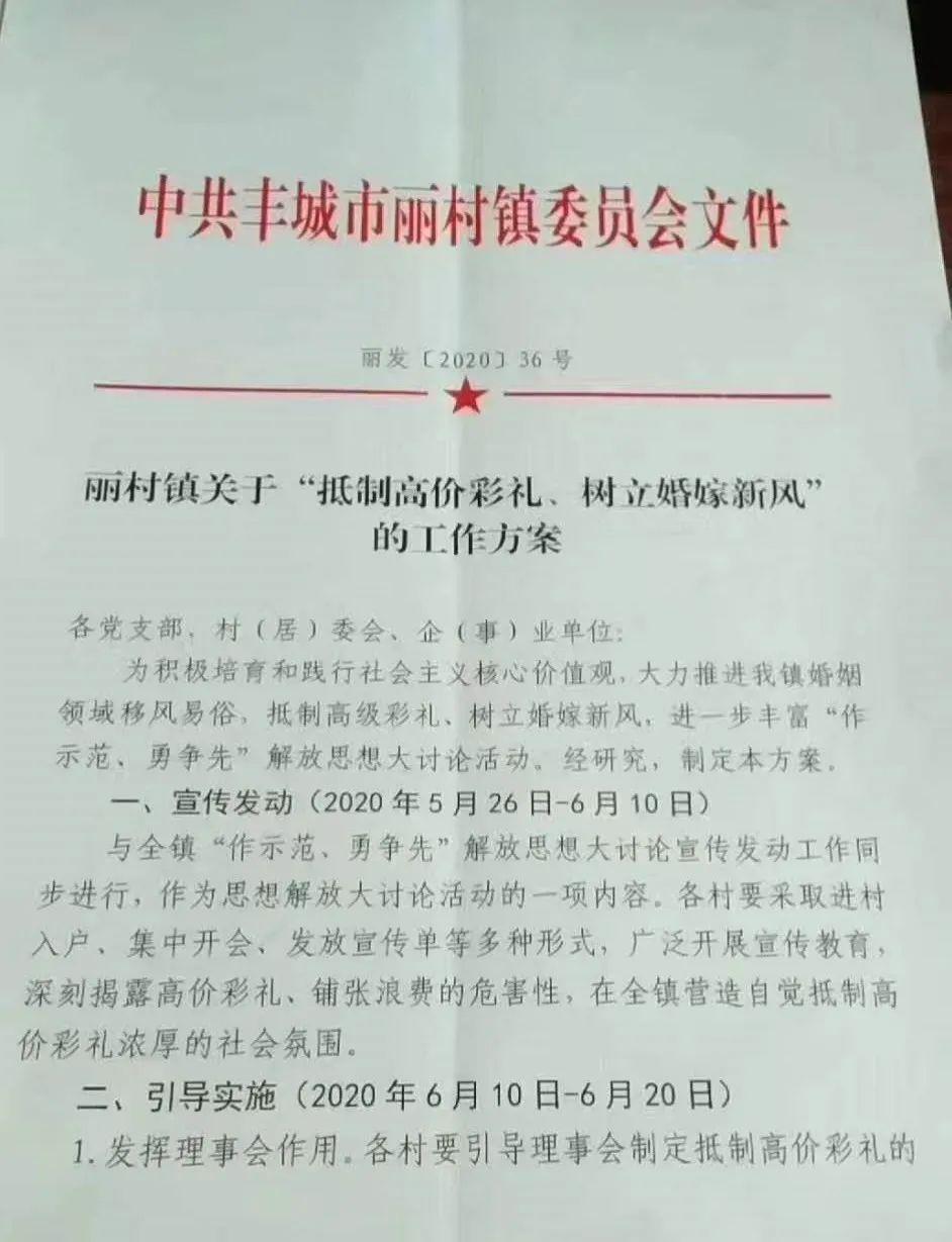 【网络广告策划方案】_江西一镇抵制高价彩礼:20日前每村物色一对青年按新规婚嫁