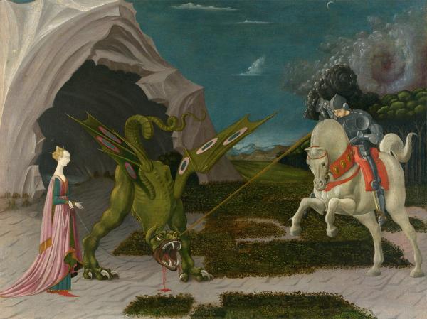 《圣乔治与龙》,保罗·乌切洛