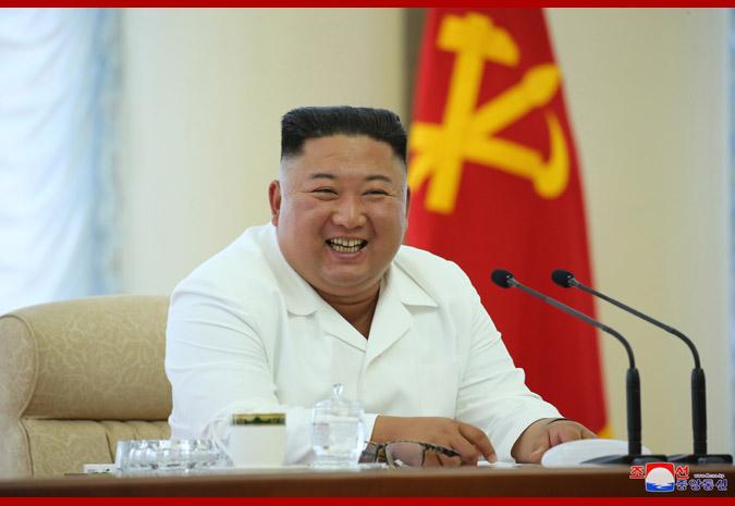 【刷百度关键词排名】_金正恩出席朝鲜劳动党会议 身穿白衣笑容满面