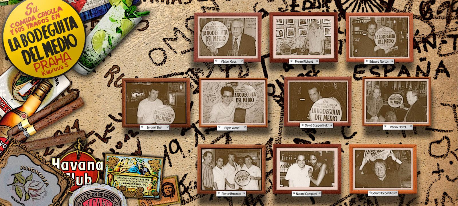 酒吧里的名人墙 酒吧官网图