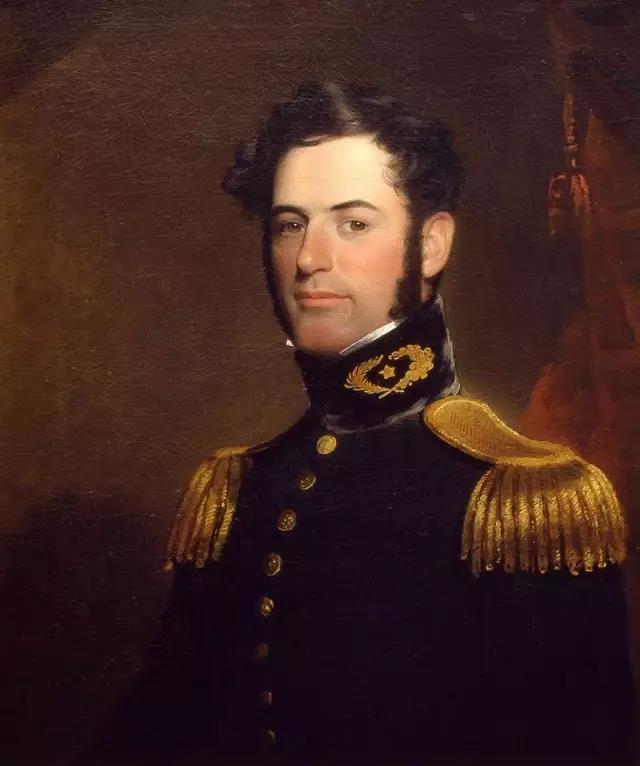 ▲1838年时的罗伯特·李,当时还是陆军中尉。