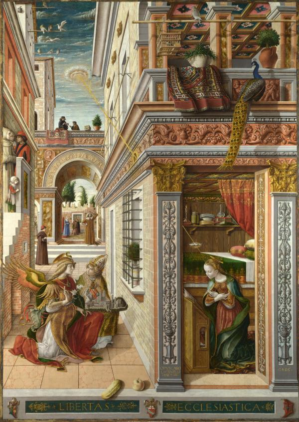 《圣母领报》,卡罗·克里韦利