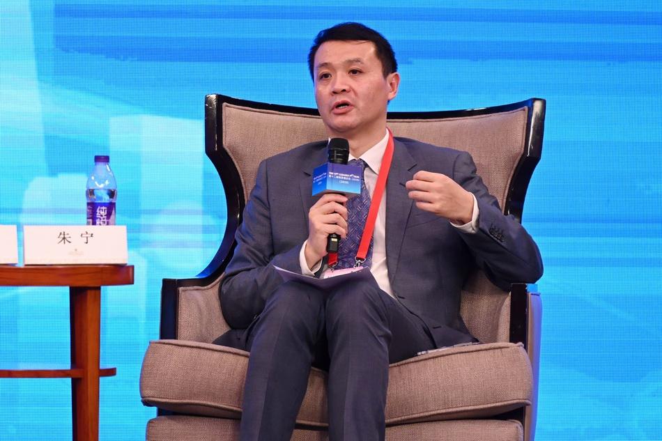 朱宁。   澎湃新闻记者 朱伟辉 图