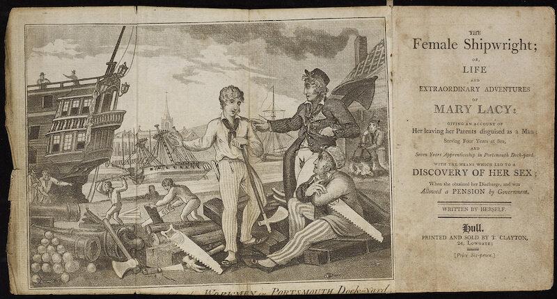 1773年,玛丽将自己的传奇经历记录了下来,出版了回忆录《女船夫》。