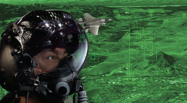 单兵配备F35级别显示器 美军用AI技术打造未来士兵