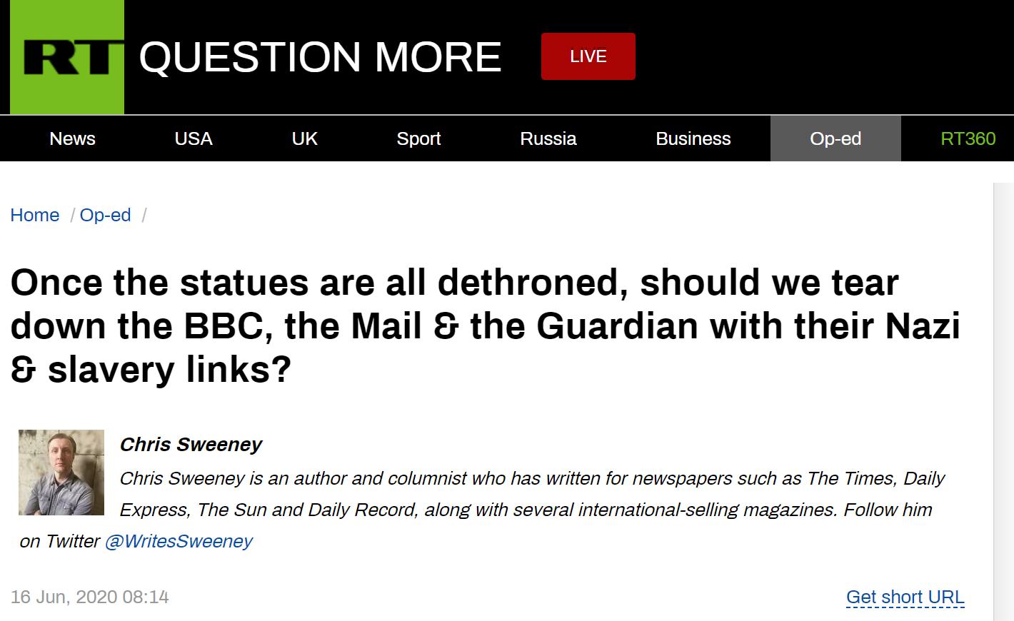 【28推论坛】_雕像被推倒之后,英国示威者的下一个目标是BBC?