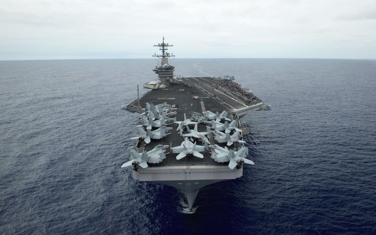 """经过长达数月调查 美军认定""""罗斯福""""号停靠越南时被感染"""