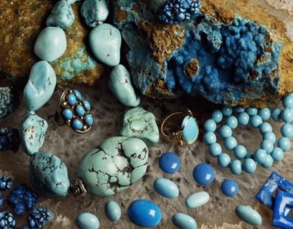 新疆黑山岭绿松石采矿遗址群考古出土的绿松石