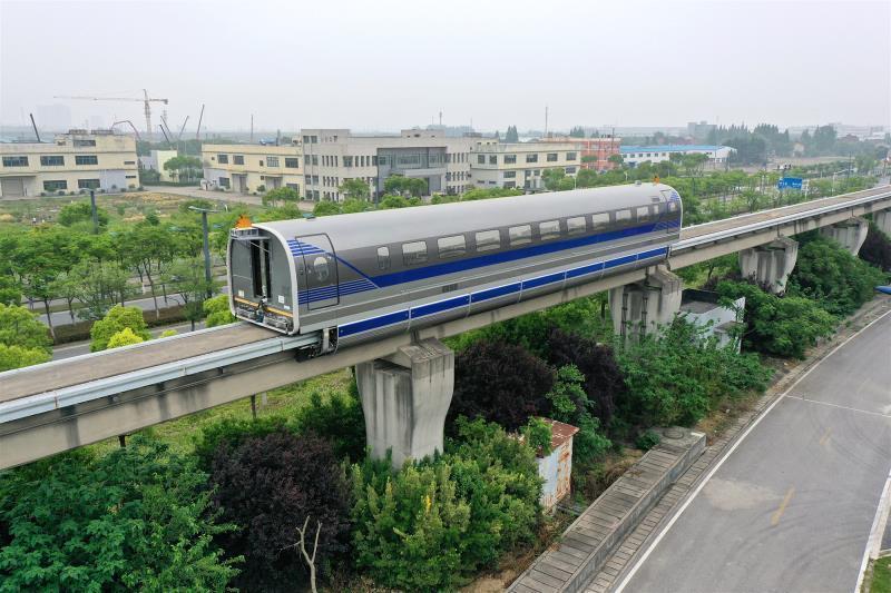新突破!中国600公里高速磁浮试验样车在上海成功试跑插图(2)