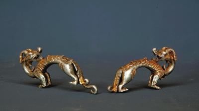 联合考古项目出土的鎏金银龙