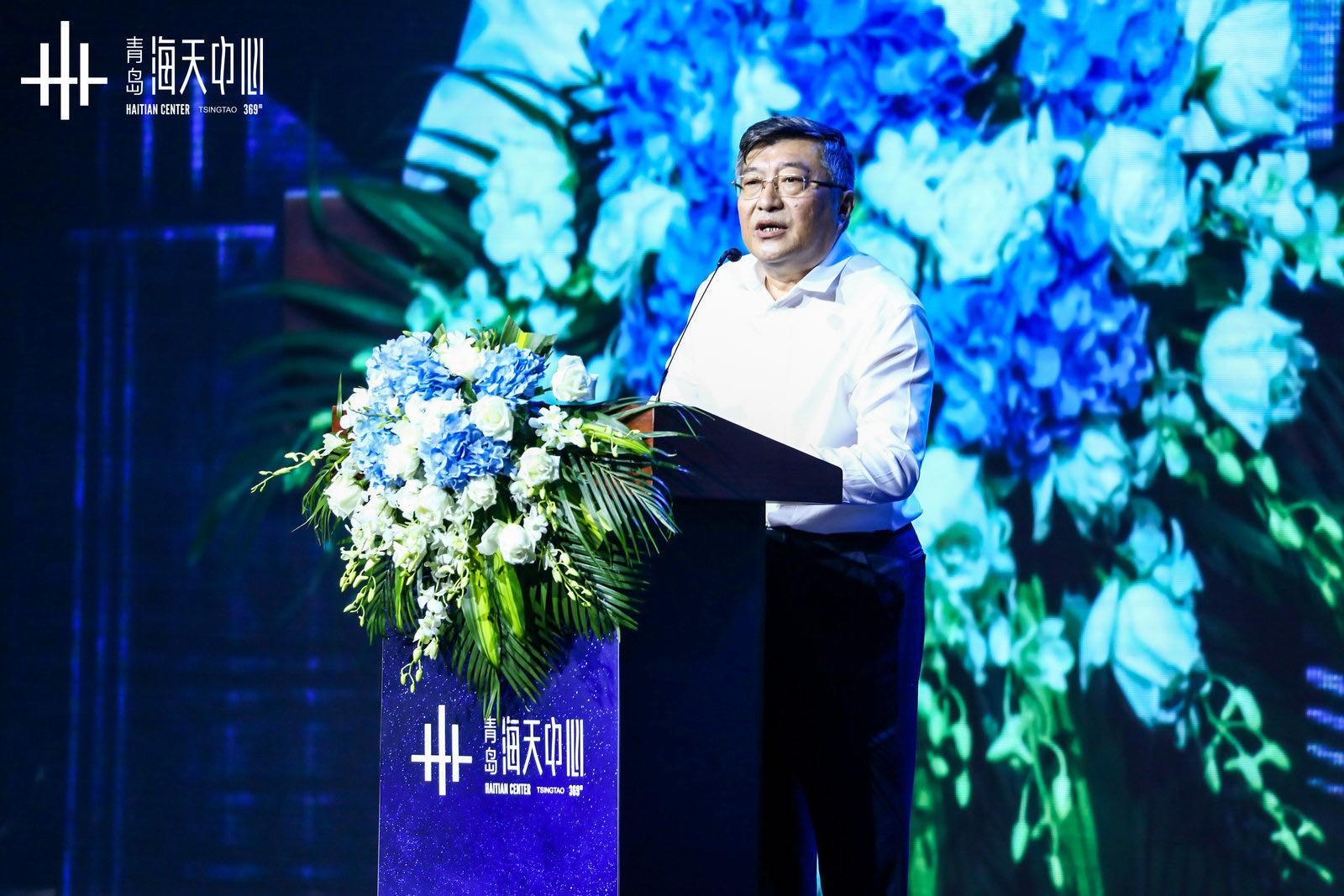 青岛国信集团党委书记、董事长王建辉
