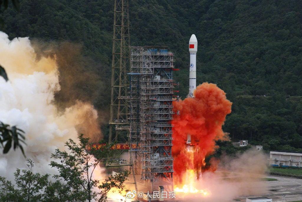 """北斗三号""""收官卫星""""发射成功 北斗全球系统星座部署完成"""