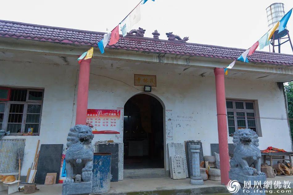 茂林寺的殿堂房舍都是果度法师靠种田的收入慢慢修建起来的(图片来源:凤凰网佛教)