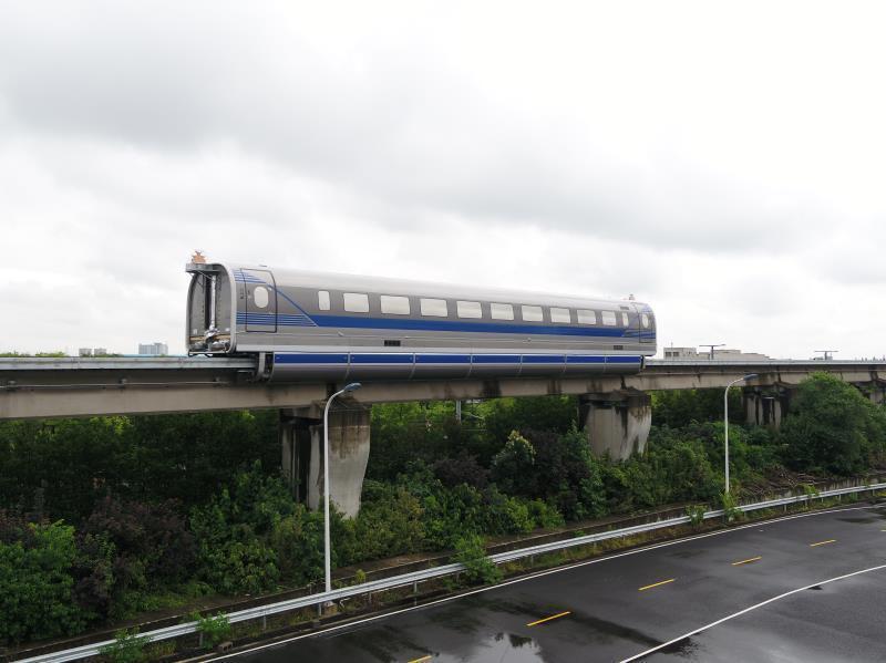 新突破!中国600公里高速磁浮试验样车在上海成功试跑插图(1)