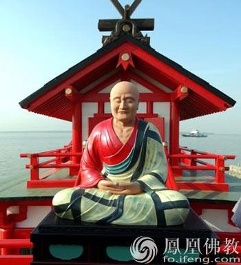 鉴真大师像(图片来源:凤凰网佛教)