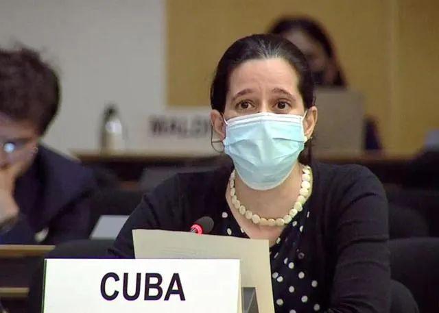 古巴代表发言