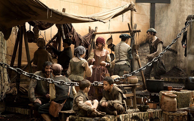 西班牙电视剧《黑死病》剧照。