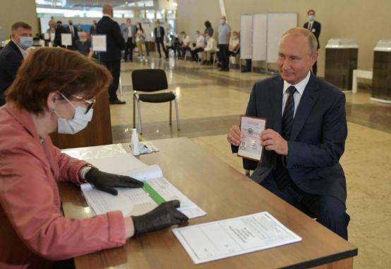 【关键词竞价排名】_俄罗斯修宪公投已统计99.9%选票 赞成率超77%