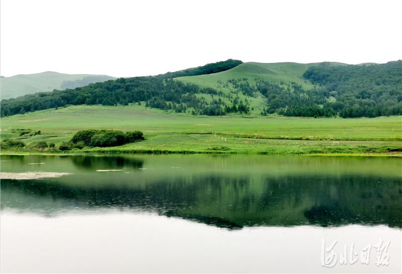 2020年6月29日拍摄的河北省丰宁满族自治县大滩镇小北沟村的雨后美景。河北日报记者杜柏桦摄影报道
