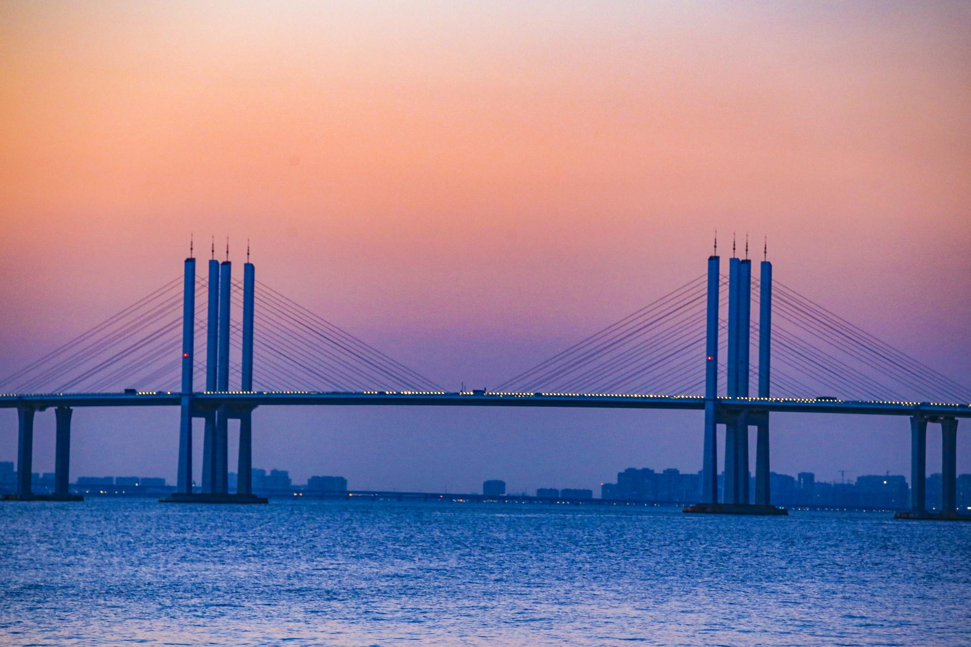 岛城这些网红桥,美到要出道了!快来pick!