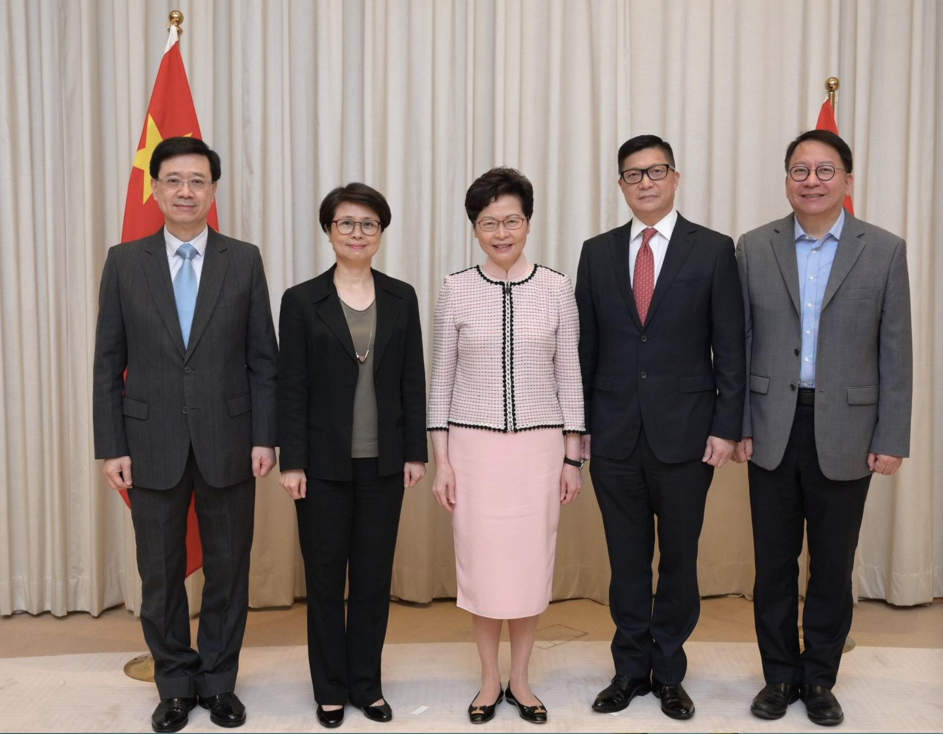 林郑月娥任港区国安委主席:这是极大挑战 将捍卫国家主权