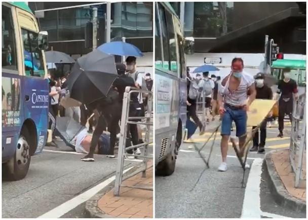 """【骑士音乐网】_香港一律师遭20余名暴徒围殴 3人被控""""参与暴动""""罪提堂"""