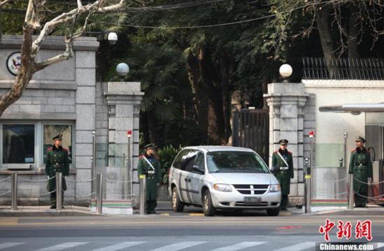 美国驻上海总领事馆资料图