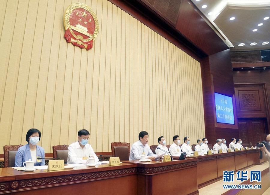 十三届全国人大常委会第二十次会议表决通过香港特别行政区维护国家安全法 习近平签署主席令予以公布