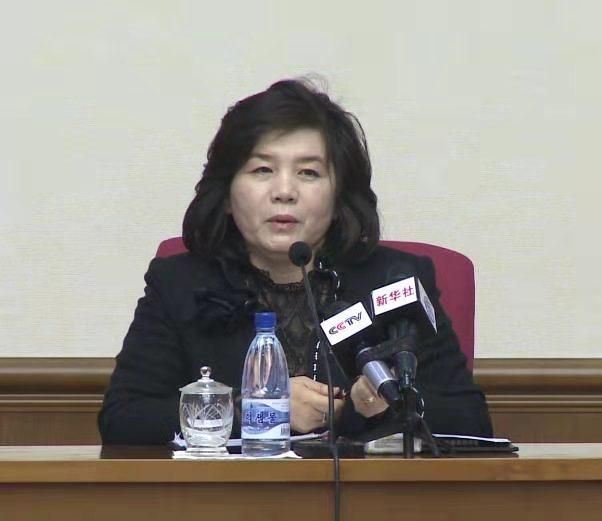 【聚币】_朝鲜副外相:没有必要与美方谈话 已制定管控美国长期威胁的方案